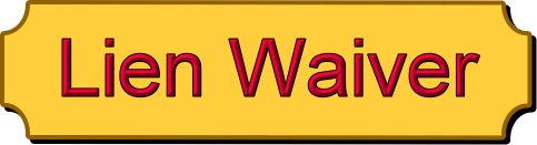 Lien Waiver
